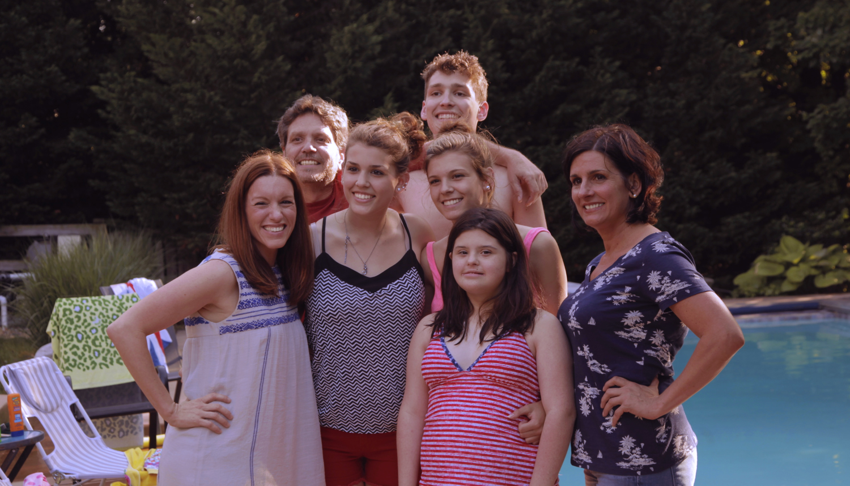 Amanda Lukoff, Paul, Maddie, Nick, Gigi, Rosa and Nina Marcellino