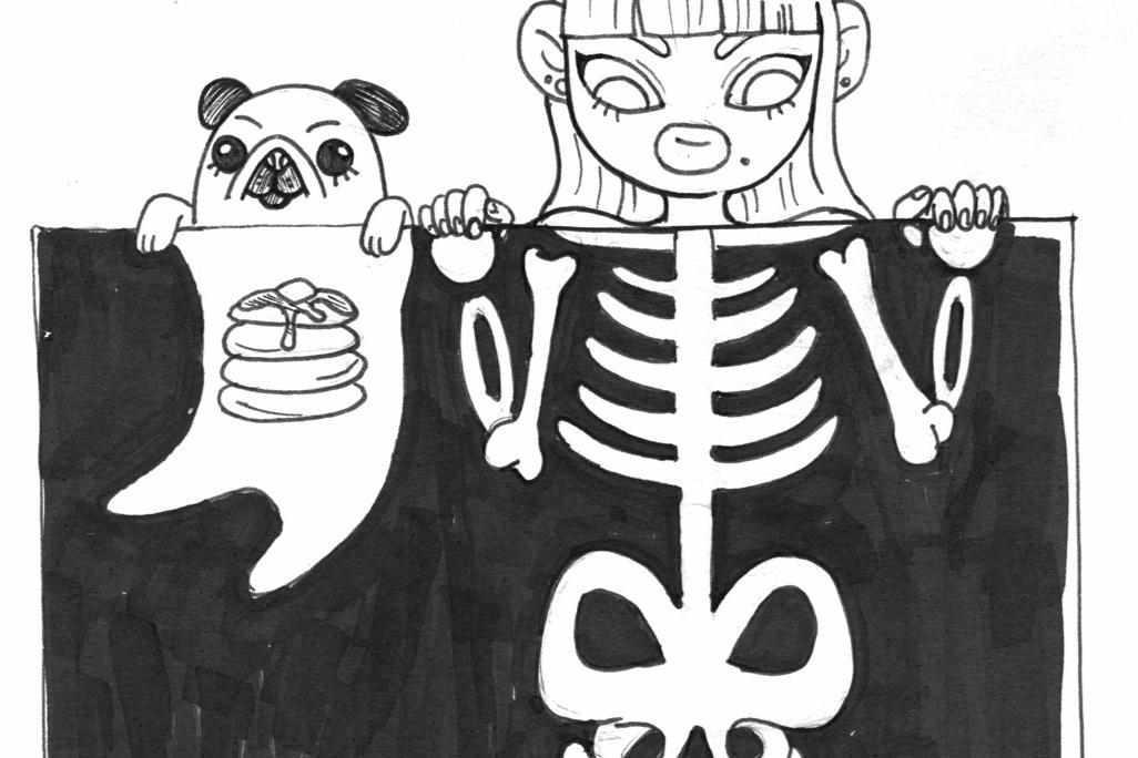 Pancake & Friends - Drawlloween Edition