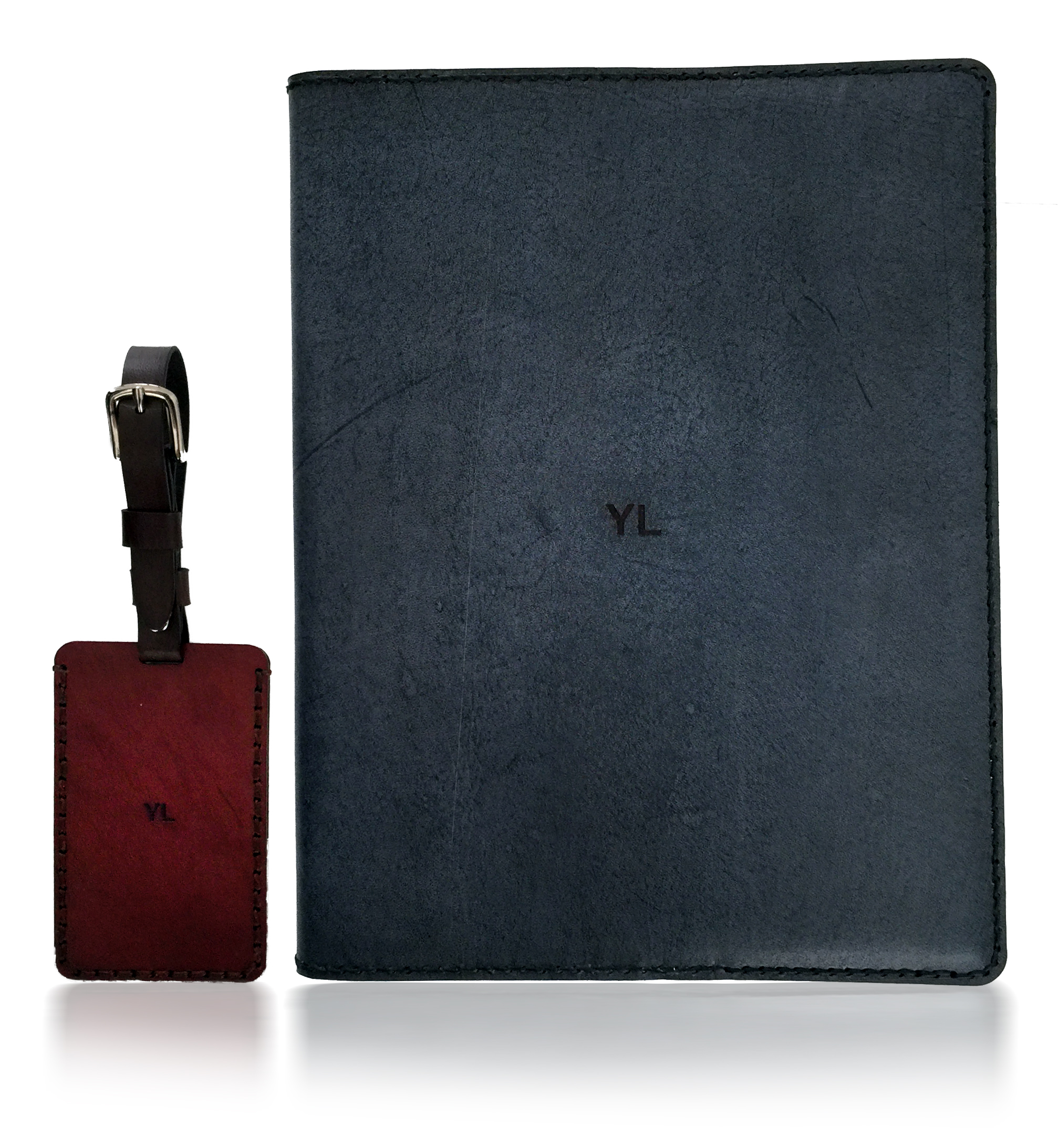 Journal and Luggage Tag, duo