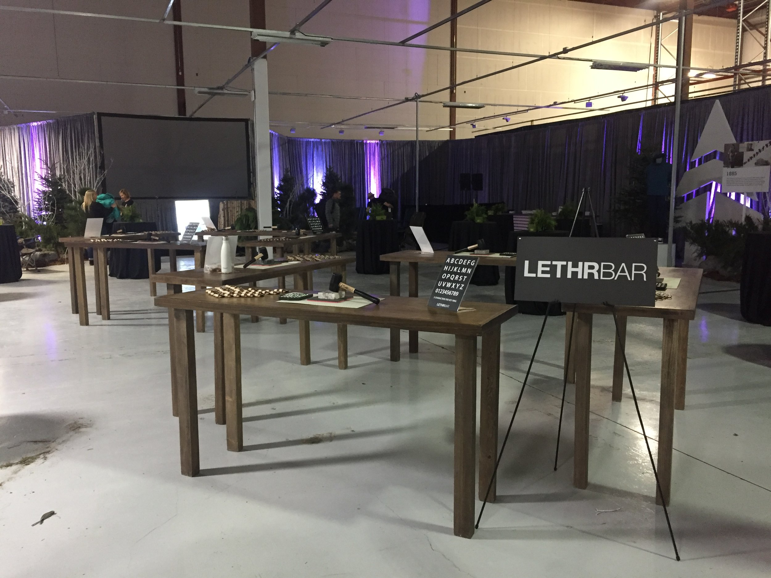 LETHRBAR Live with Woods