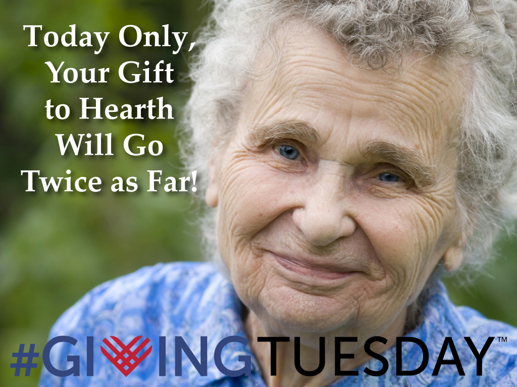 Your Gift Will Be Matched on Tuesday, December 1.