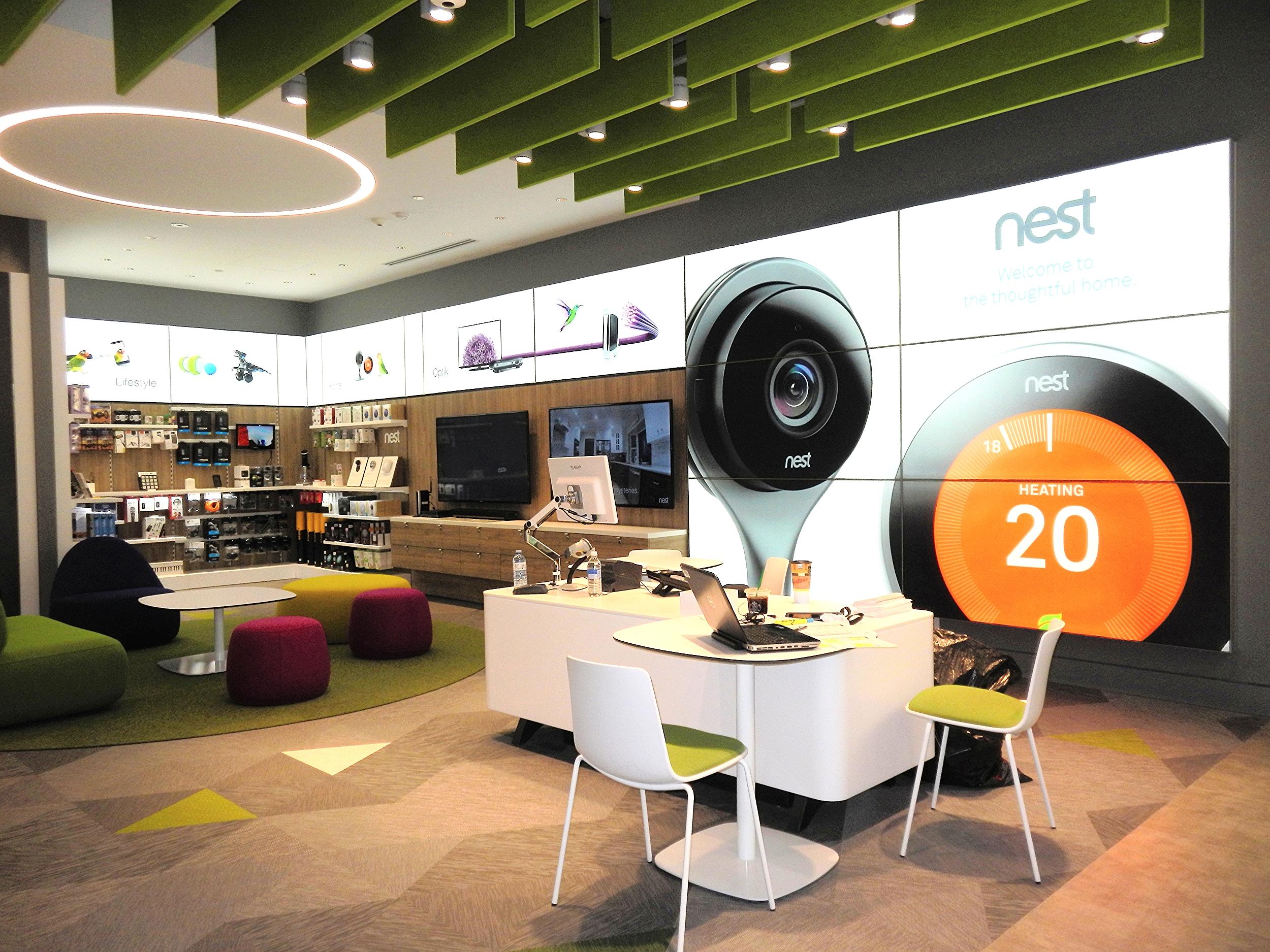 New Telus concept store at Southgate Centre; Edmonton, AB