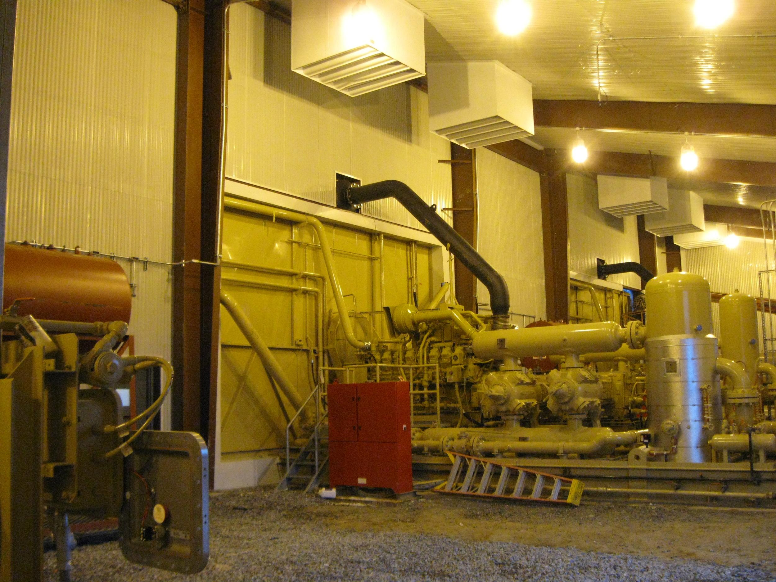 PVR Marcellus Gathering Compressor Station