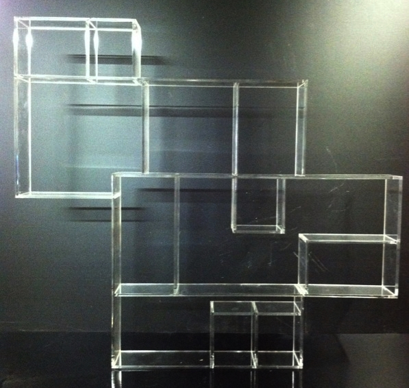 "This is a 1/4"" thick clear acrylic shelf. The dimensions are 30 x 27 x 3. We are selling them for $35 each plus tax and they come with the mounting hardware."