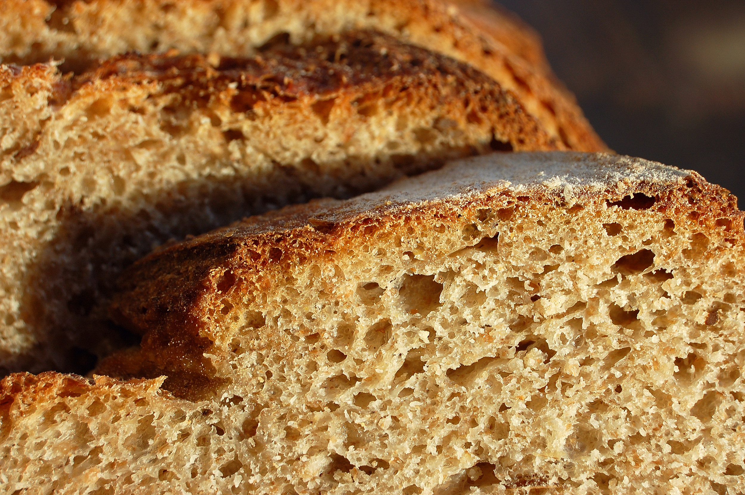 Why do we make our own bread? For the flavour, the crust and the crumb.