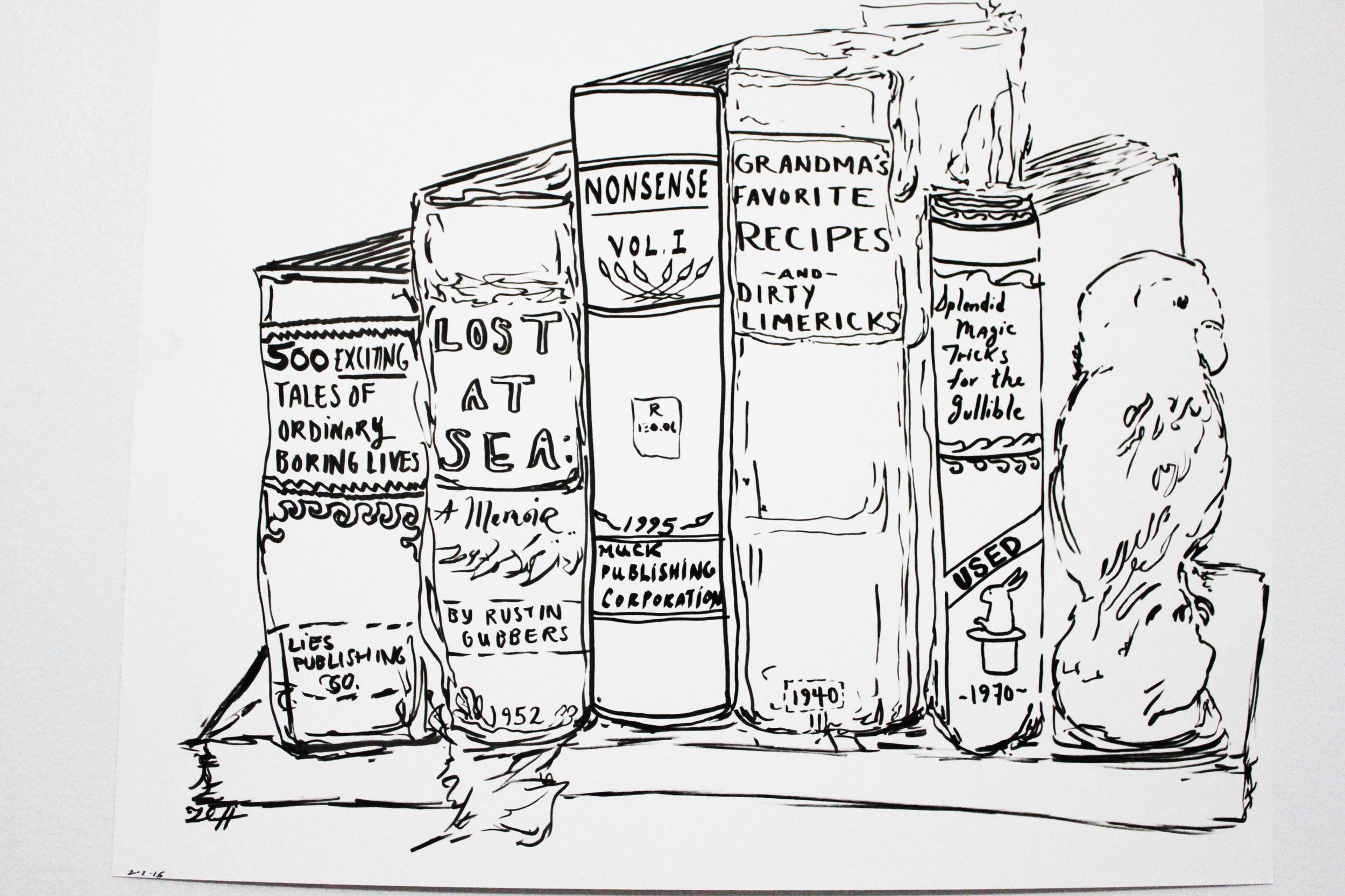 Imaginary Bookshelf