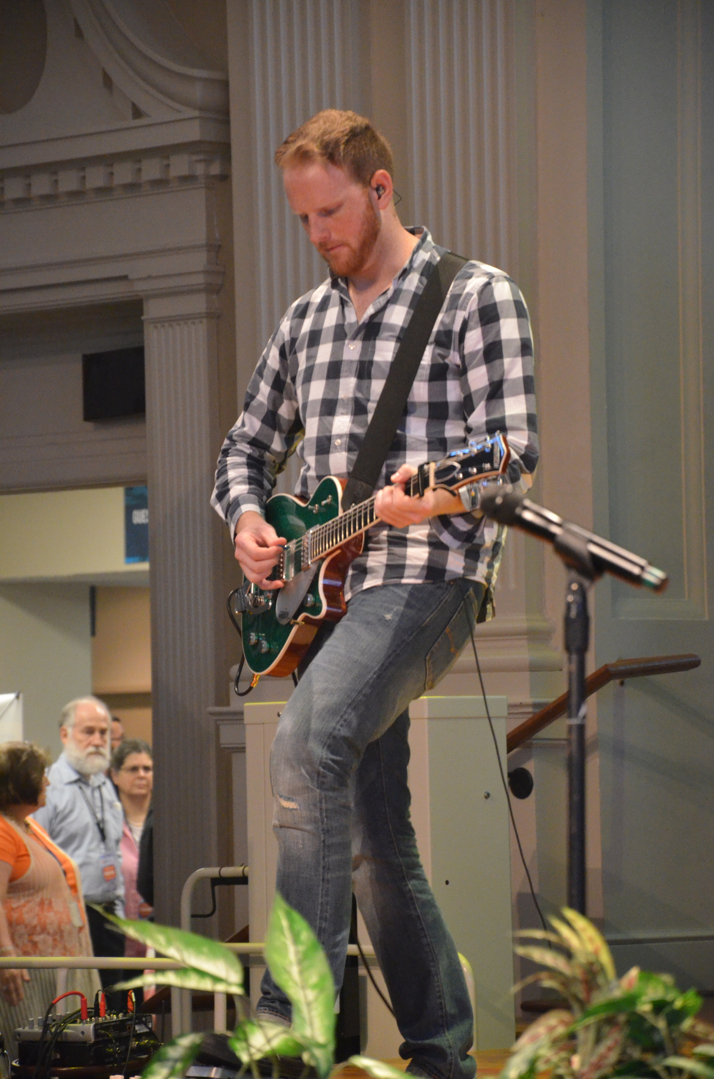 The Truth for a New Generation conference worship is led by Charles Billingsly and his band. One of the conference goals is to answer questions for those struggling with doubts.