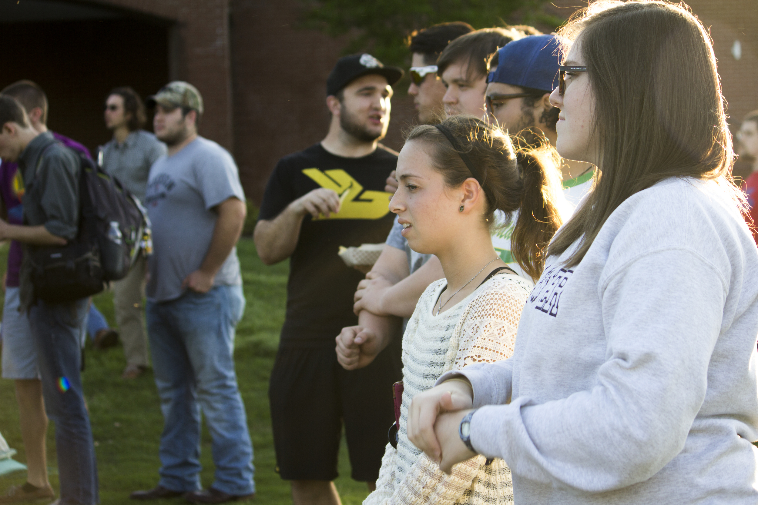 The day had great weather, which drew a nice crowd to come out and cheer on their peers in the different bands.