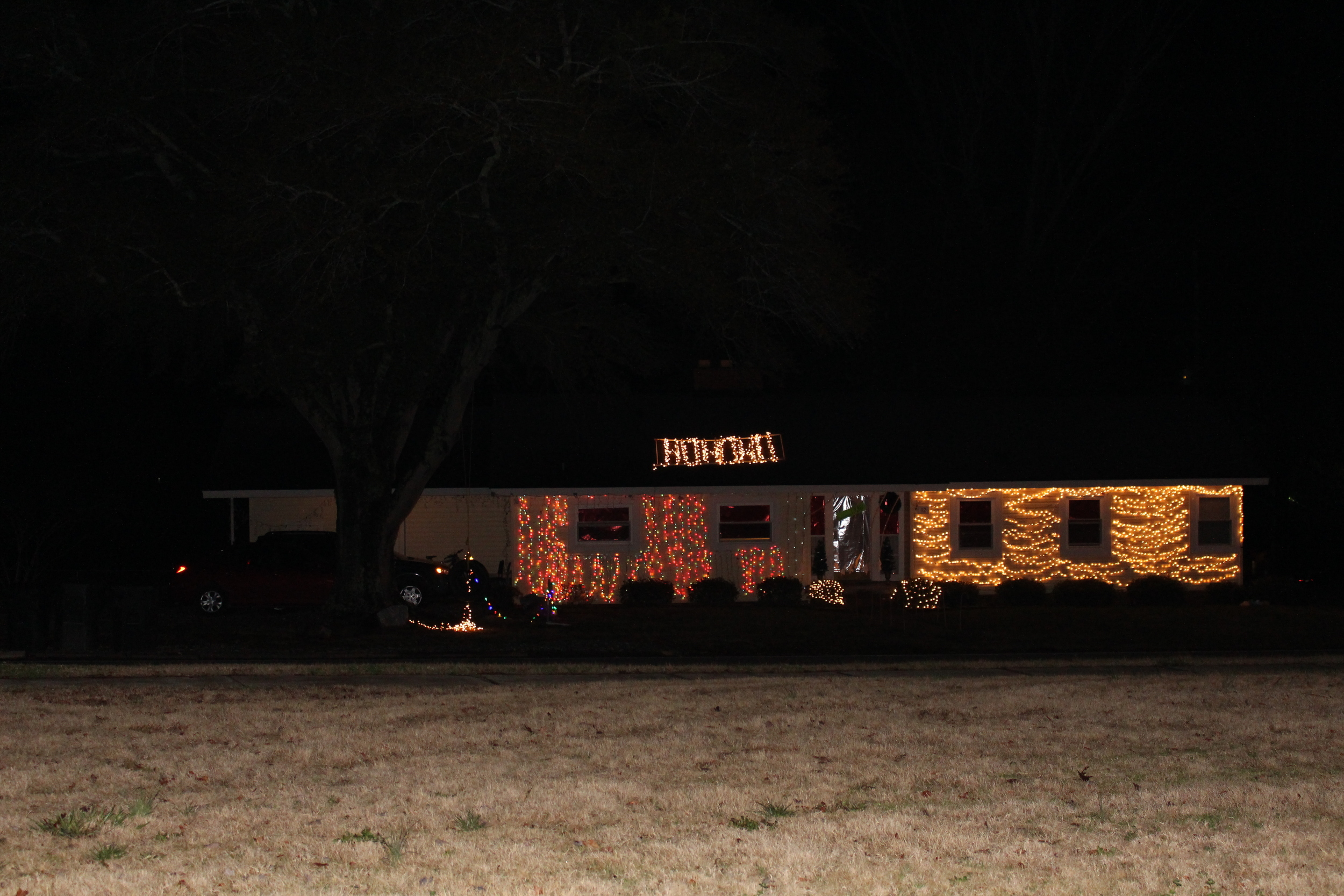 Chinquapin 12 decorated their house to display their Christmas cheer.
