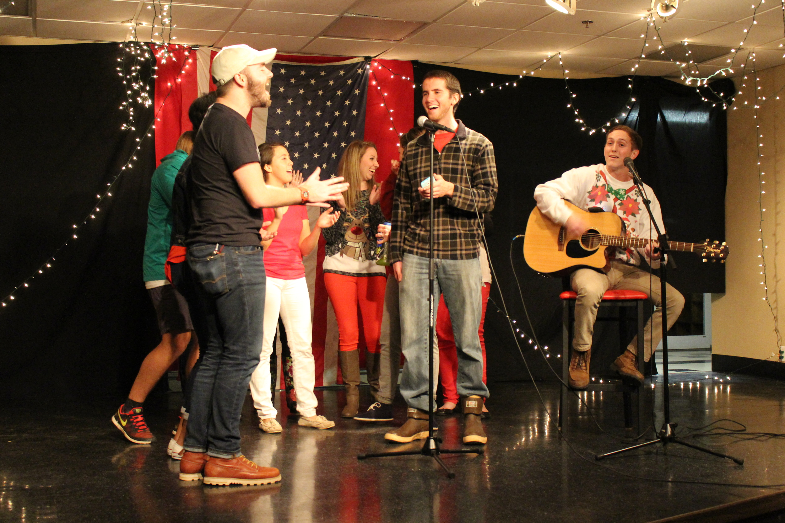 NGU Activities Staff perform their own rendition of a Christmas classic.