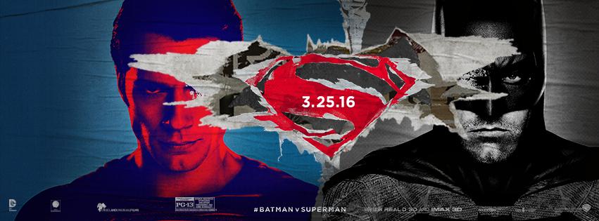 Photo courtesy of official  Batman vs. Superman Facebook page.