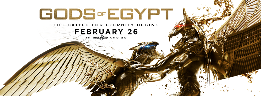 Photo courtesy of official  Gods of Egypt Facebook page.