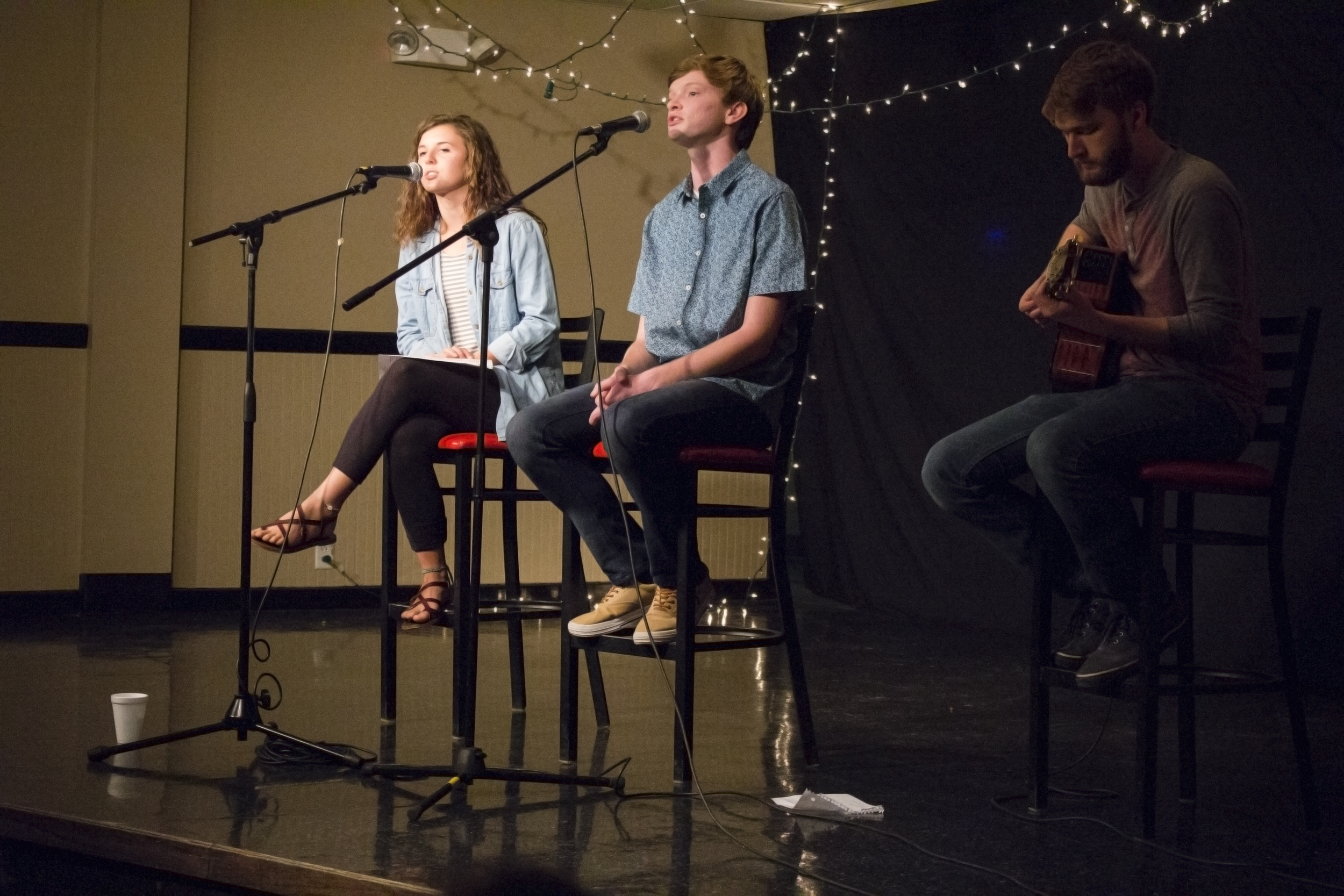 Collin Dale,Hannah Squire and Hudson Tankersley won best performance of the night.