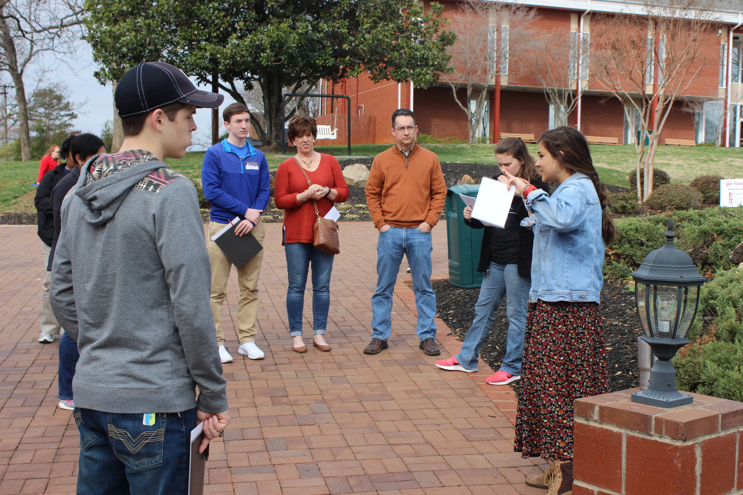 Last but not least,future students learned about chapel and the wonderful opportunity to worship God that it provides from campus ambassador Sam Perez.