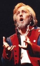 Photo courtesy of Wikimedia Commons.  John Owen-Jones portraying the character of Jean Valjean.