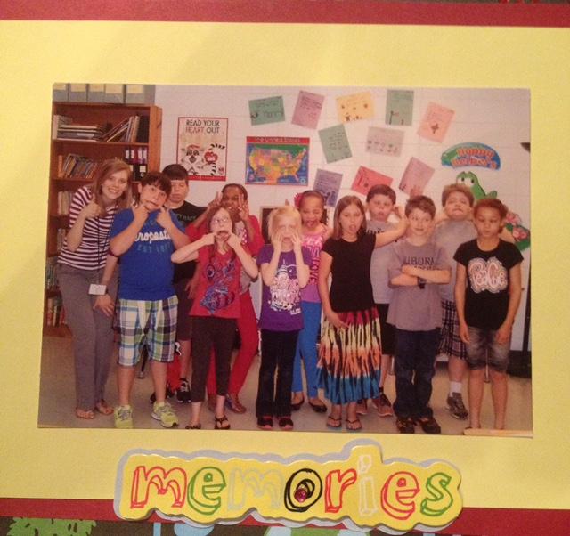 Sara and her 3rd grade class