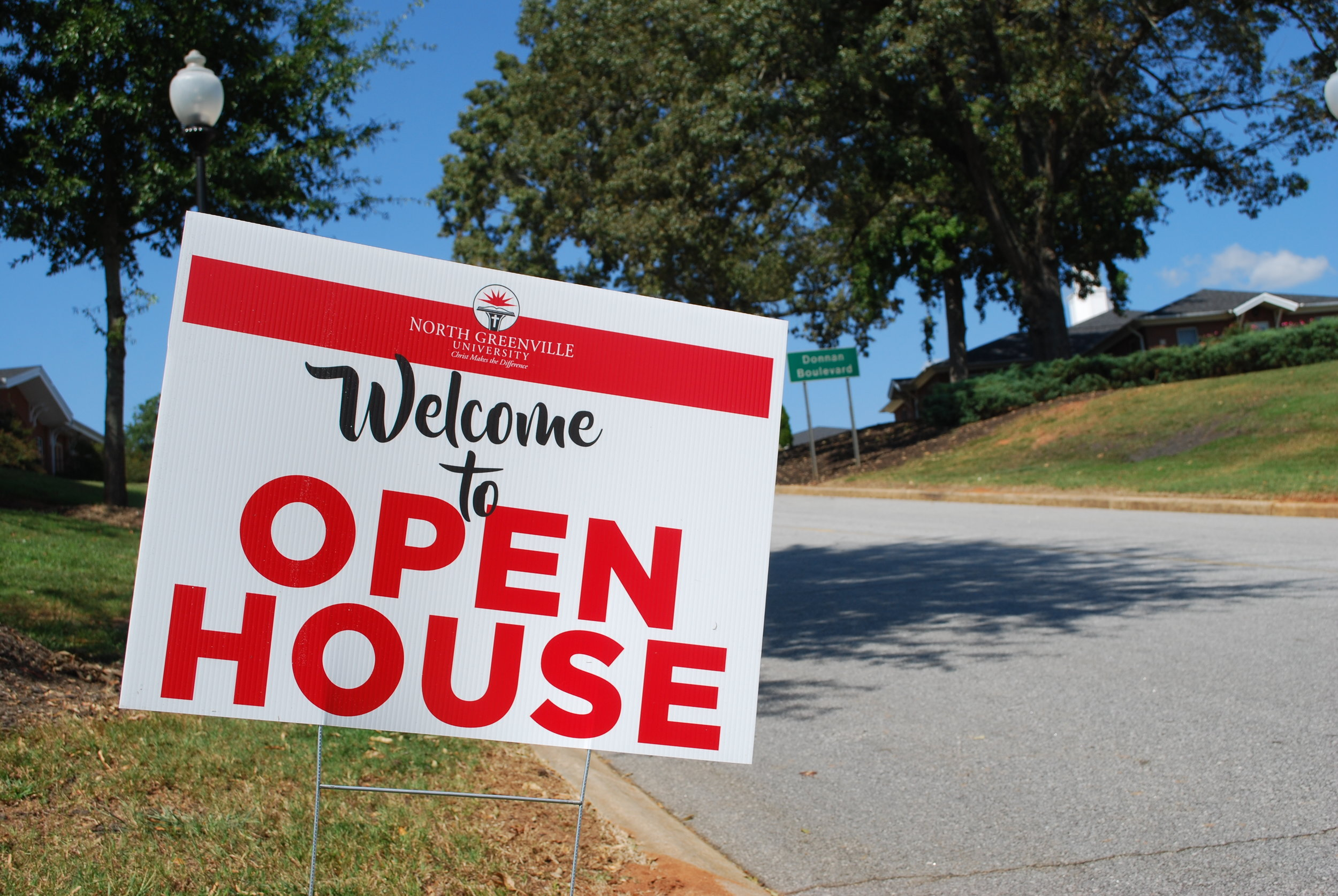 North Greenville University welcomed prospective students to its open house on Saturday, September 23, 2017.