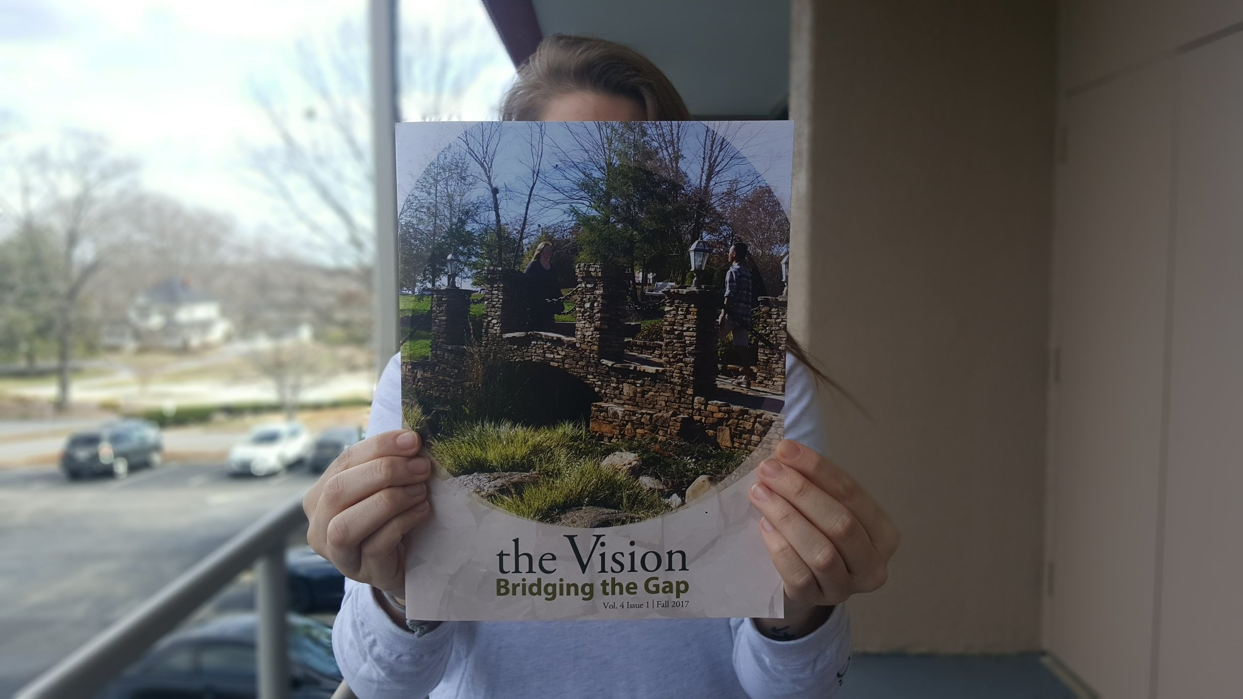 Volume 4, Issue 1 of the Vision magazine