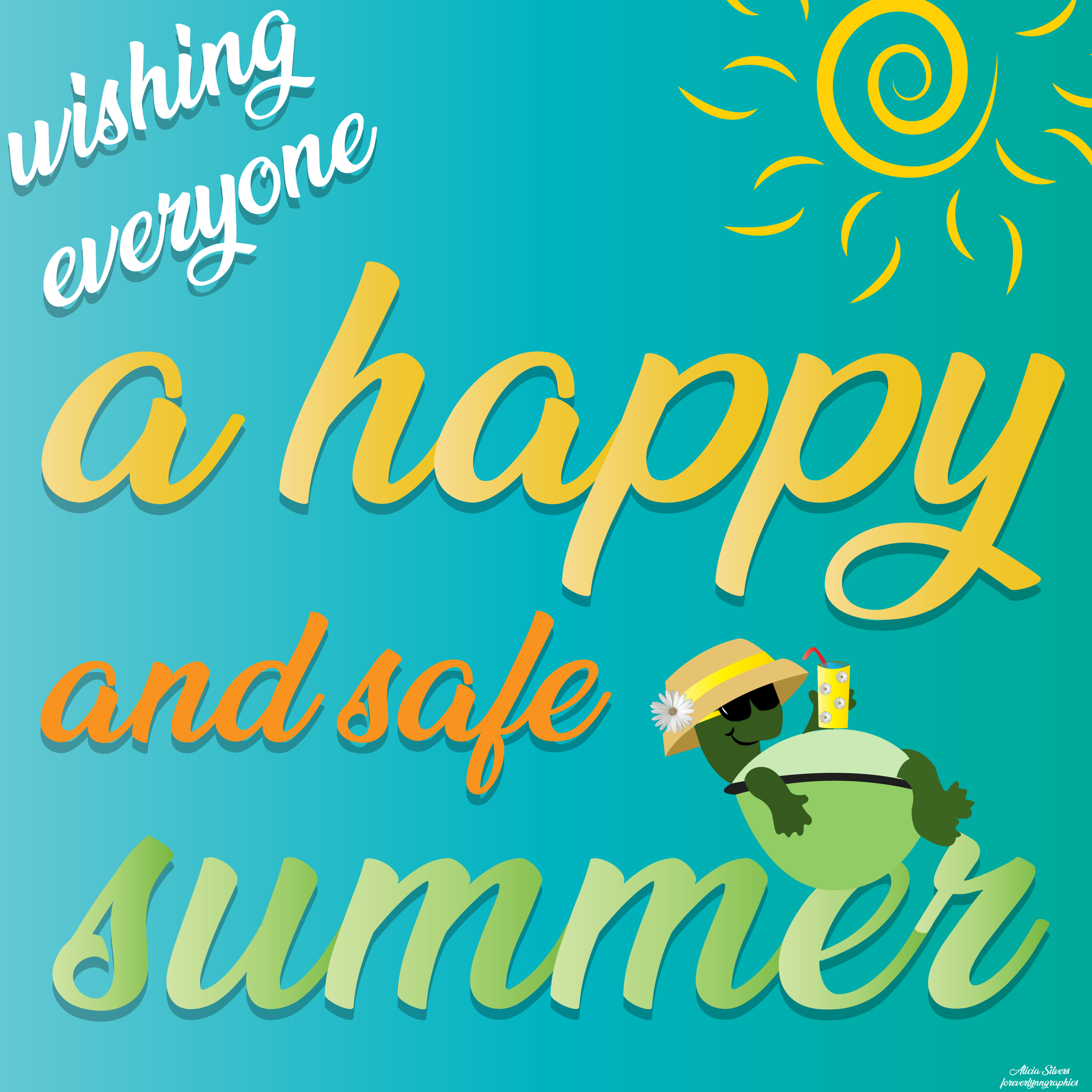 Have a happy and safe summer — Vision Media