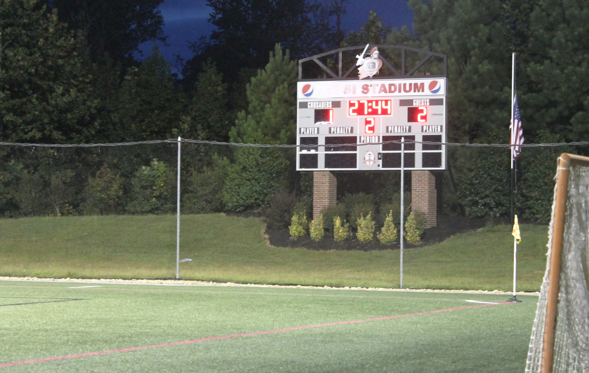 After a hard fought battle from both teams the final score of the NGU vs Lander University ladies soccer game comes down to NGU-1 lander-2.