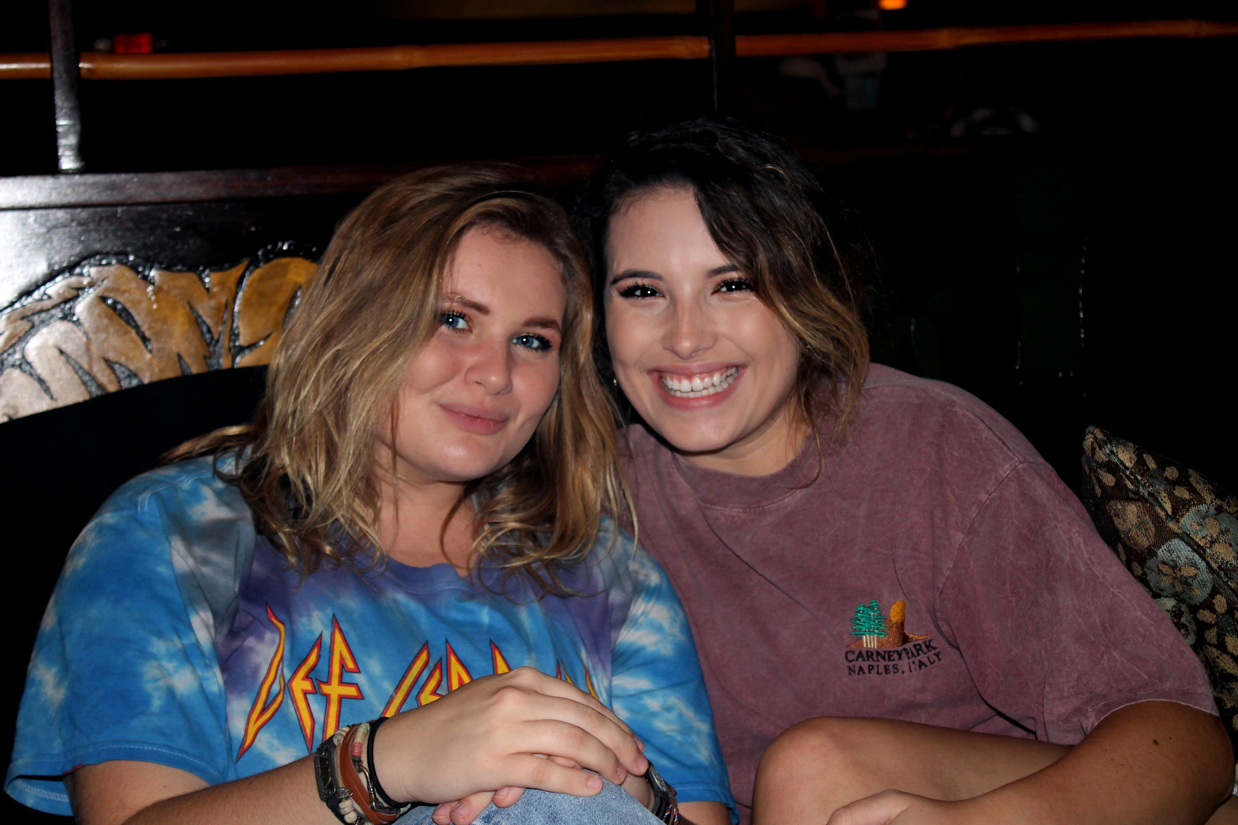 NGU students, junior, Allie Kiser and senior, Meghan Miller enjoy taking their nights off of Joyful Sound to relax with a cup of Kava while studying with friends.