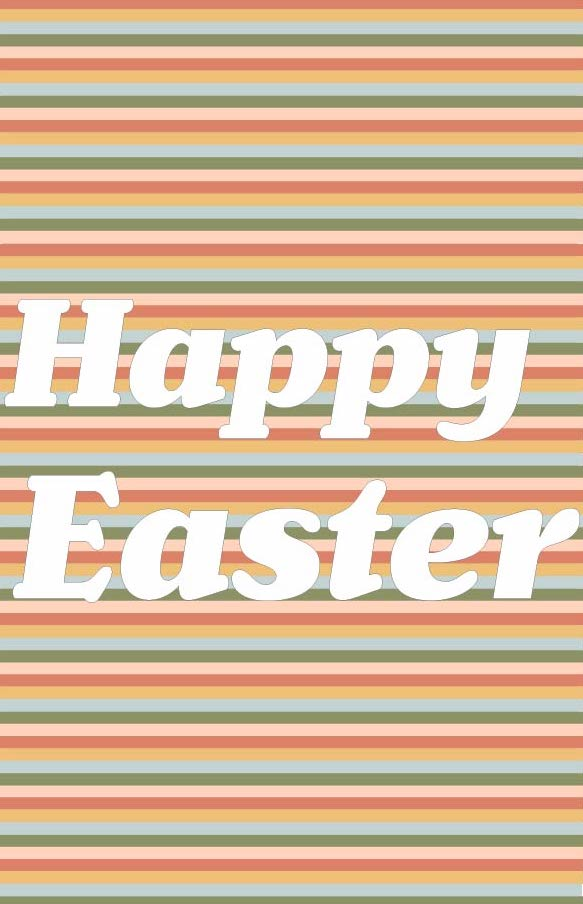 Happy Easter! With finals quickly approaching and that long weekend we have I know its easy to gloss over and be caught up in school work. Lets remember the reason to celebrate with a long weekend. Jesus is alive rest in the hope and joy this truth gives you.