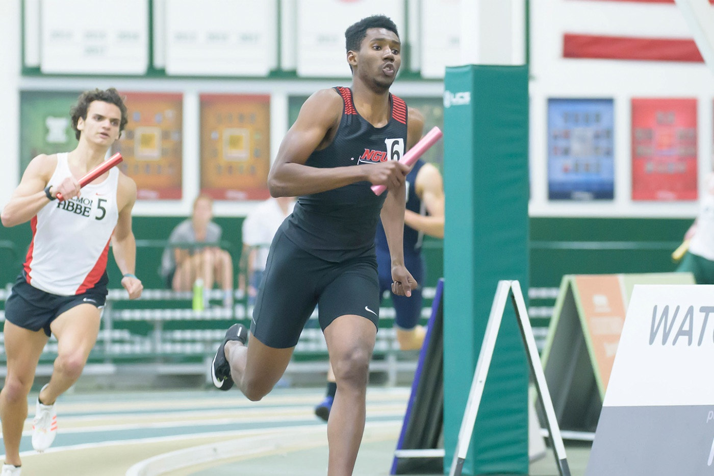 Richardson ran his final 200-meter race of the indoor calendar and clocked a time of 21.60-seconds at the prelims for the NCAA Division II National Championships.