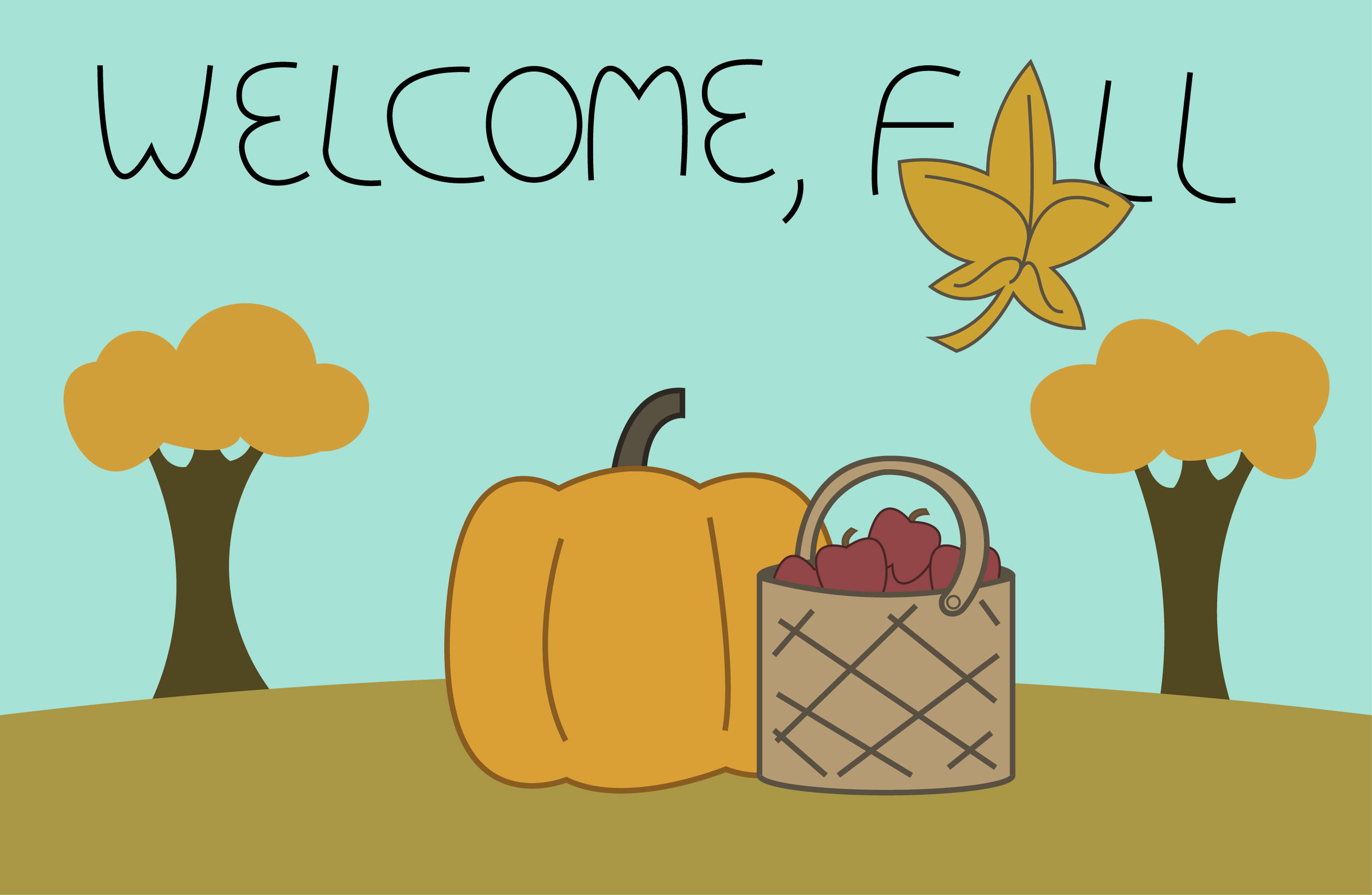 Fall is here. Get ready for sweaters, fall colors and midterms.