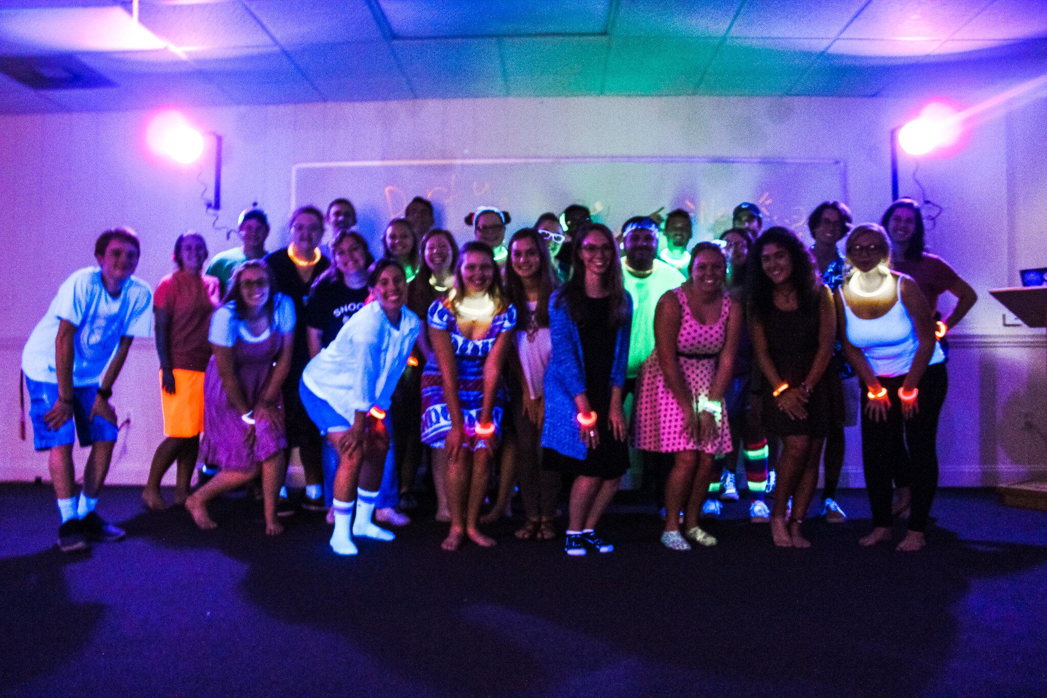 Group photo of the NGU Swing Club.