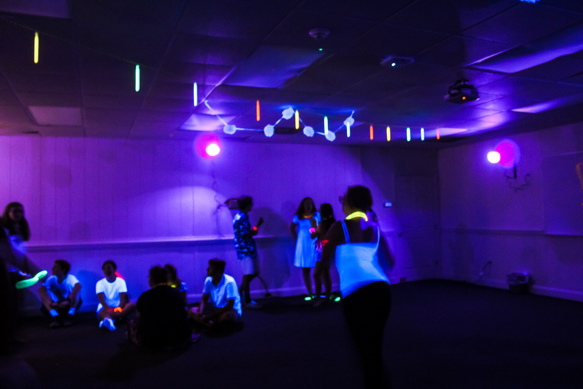 Swing Dance Club members dancing and socializing.