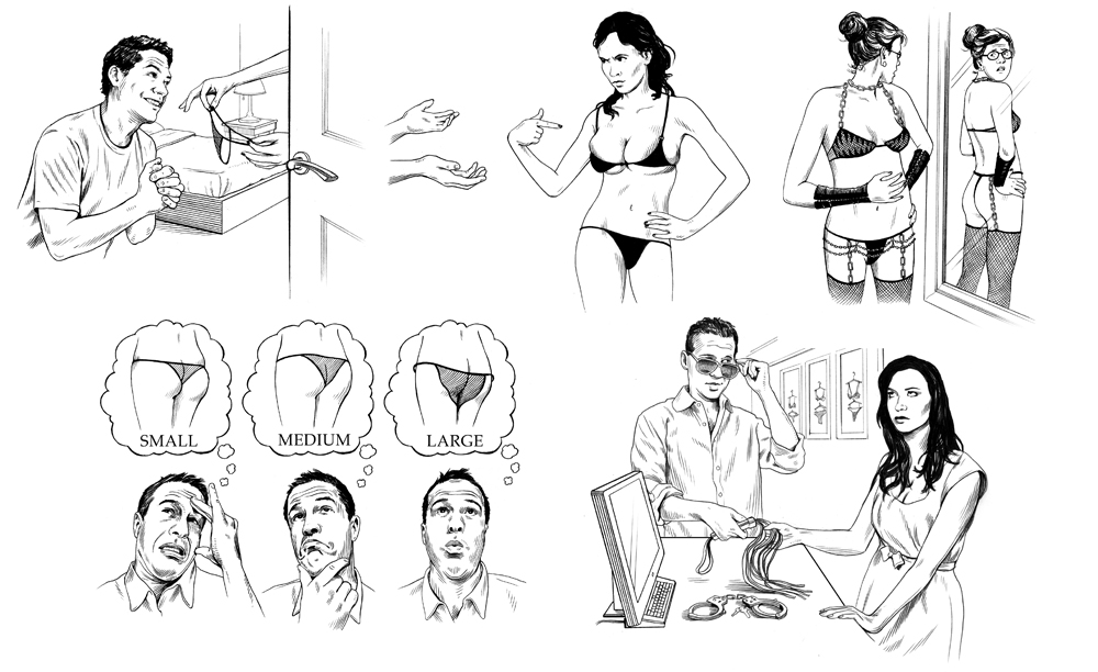 HOW TO BUY LINGERIE FOR A LADY   Mr Porter