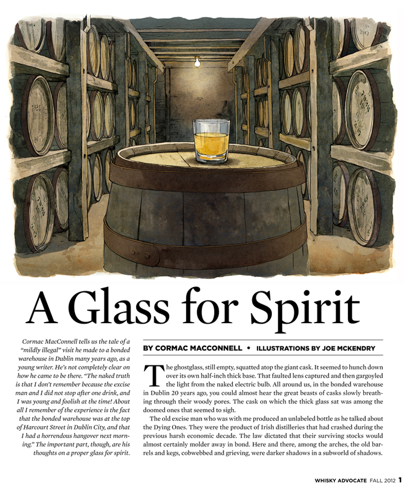 A GLASS FOR SPIRIT  Whisky Advocate Fall 2012
