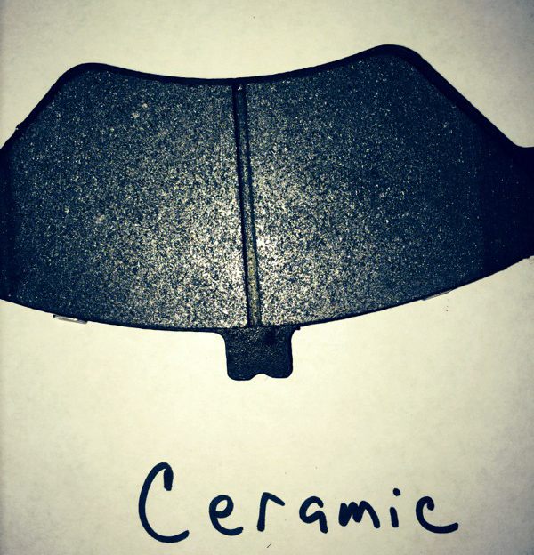 High quality Ceramic brake pads are often recommended by vehicle manufacturers as an upgrade, and we generally use this higher quality product on our services.
