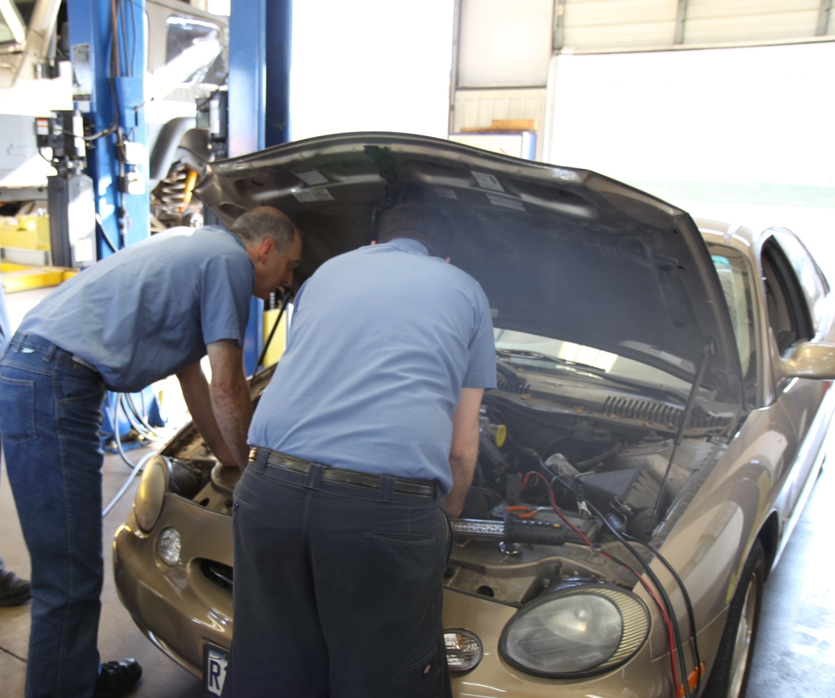 Our ASE mechanics have more than 75 years of auto repair experience among them . . . and are willing to share it with one another to solve your vehicle's problem!