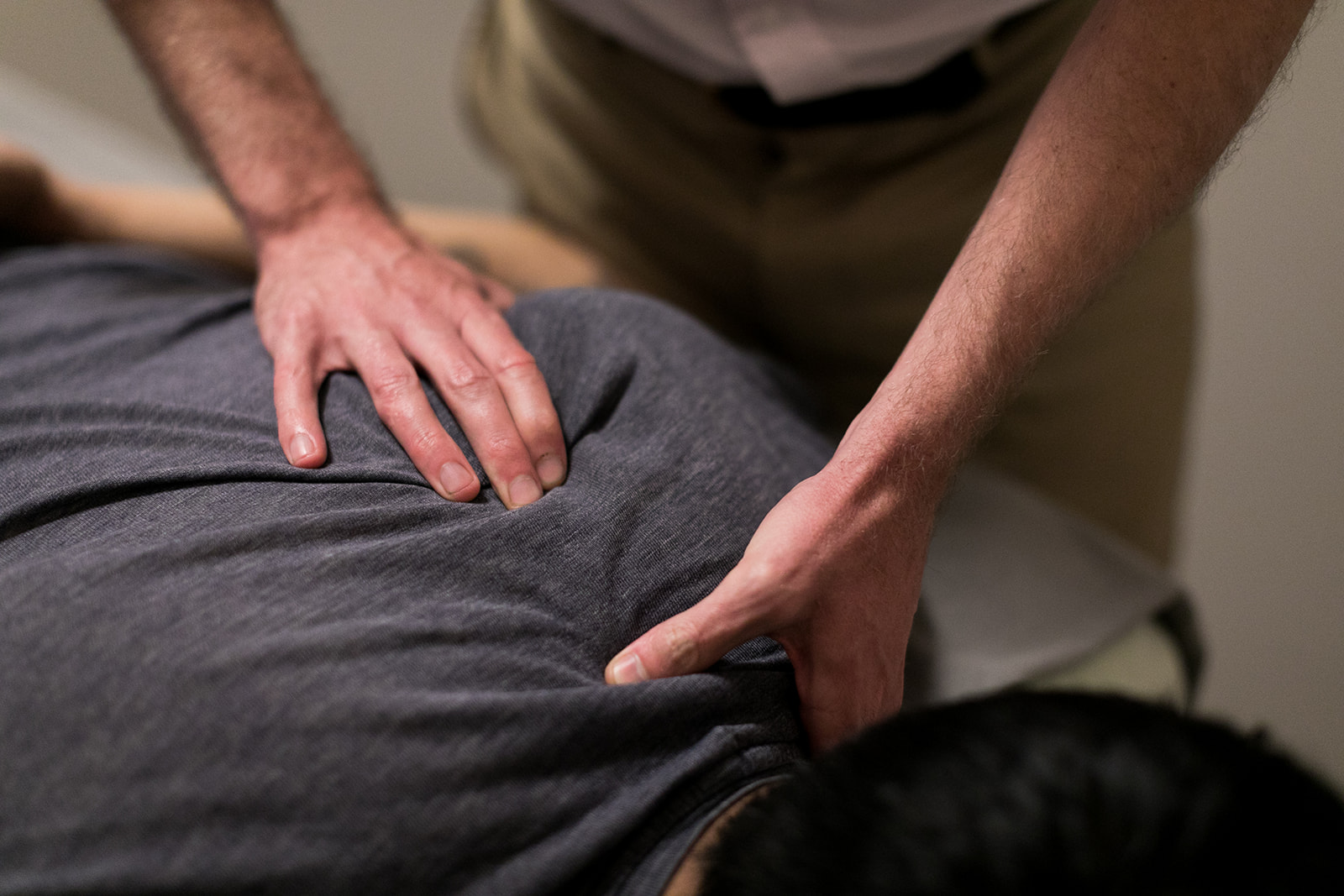 Bodywork - We offer different types of bodywork for rehabilitation, recovery, and relaxation.