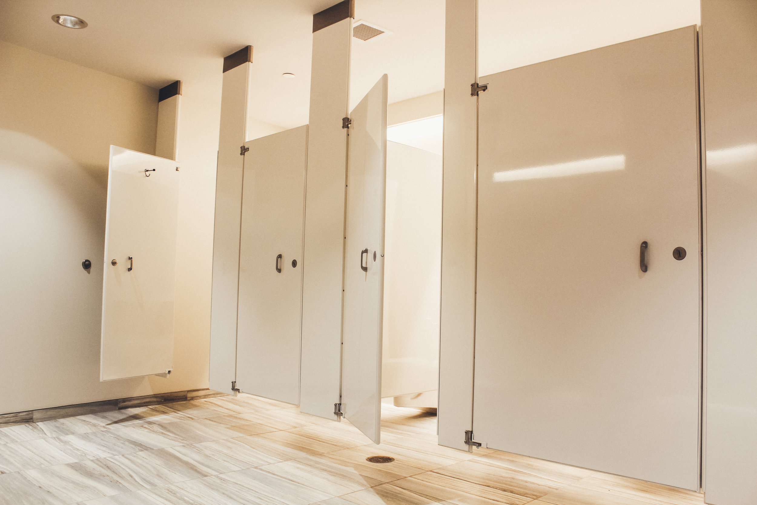 New Restrooms at the Eric Baker Nord Annex