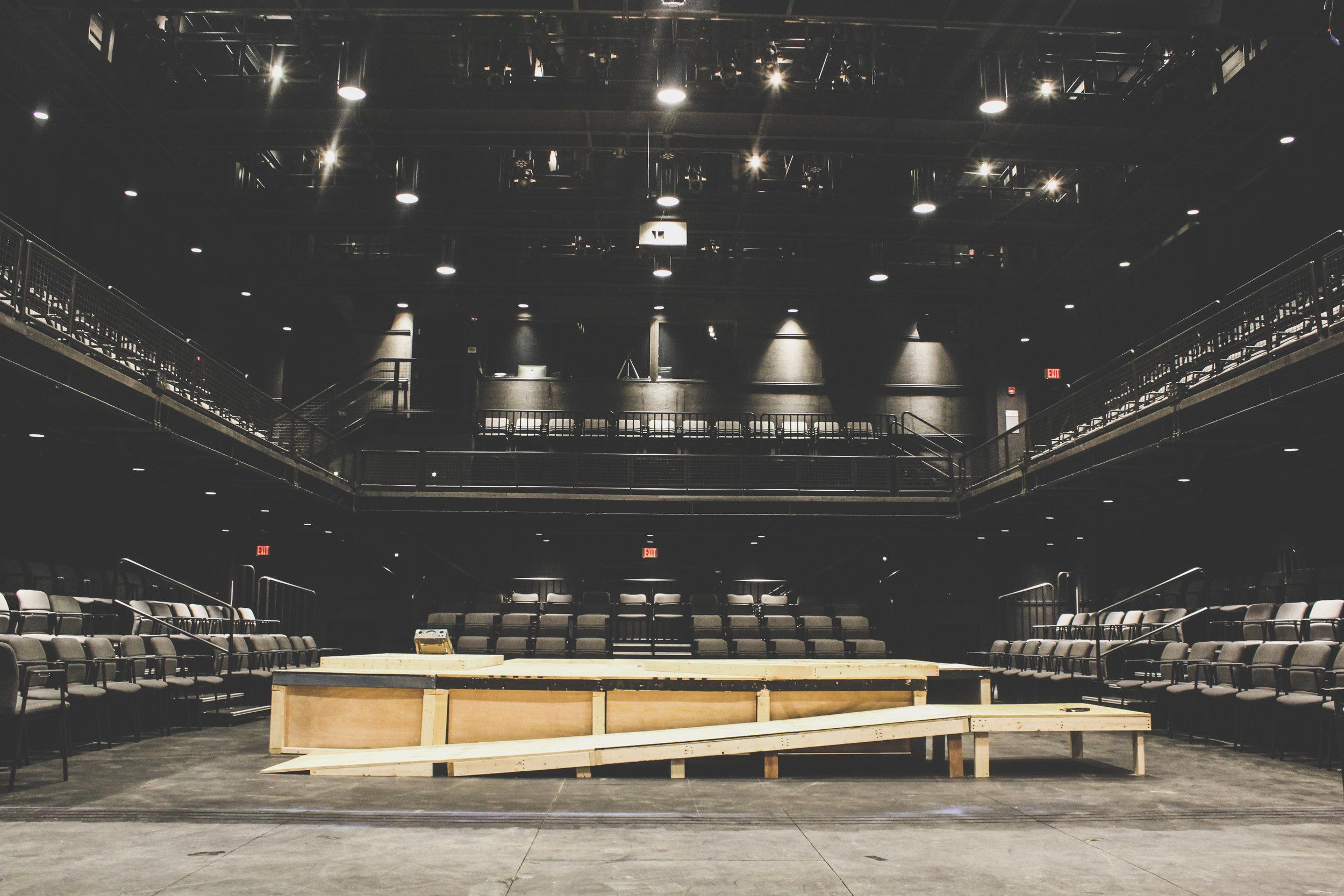 Inside the Irene & Alan Wurtzel Theater