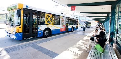 Brisbane bus station