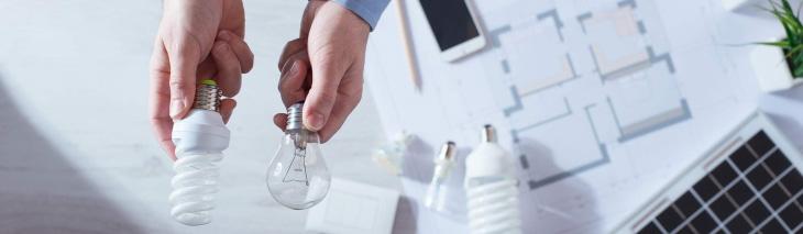 different light bulbs