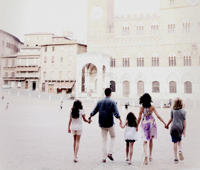 The de Albergaria family in Siena