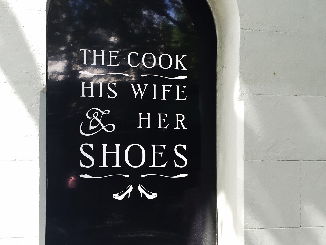 The Cook, His Wife, and Her Shoes Boutique, Sydney