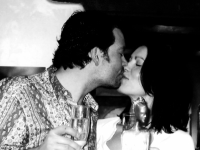 Eight years ago with my Valentine in Santa Fe, New Mexico