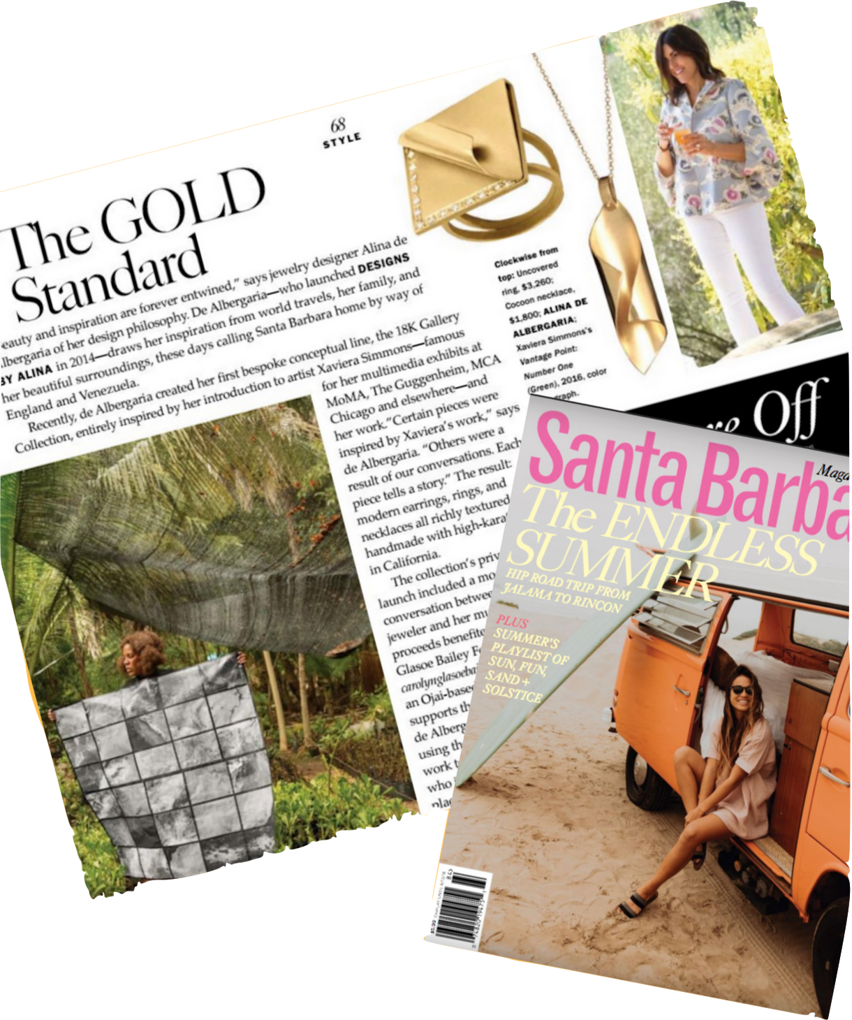 Santa Barbara Magazine Designs by Alina