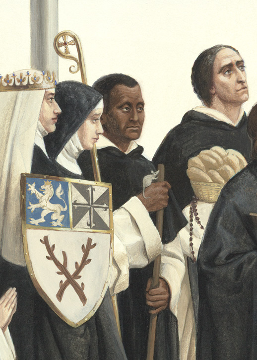 St. Zedislava, Bl. Ingrid of Sweden, St. Martin de Porres, St. Juan Macias
