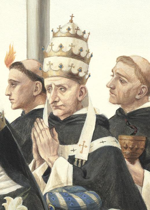 St. Vincent Ferrer, Pope St. Pius V, St. Louis Bertrand