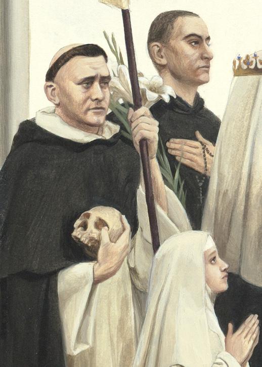 Bl. Jean Joseph Lataste, St. Francisco Guitart, Bl. Imelda