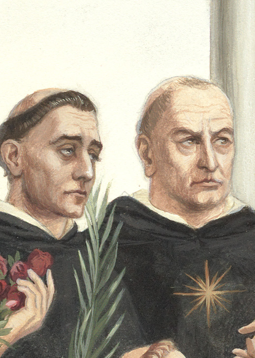 St. Peter Martyr, St. Thomas Aquinas