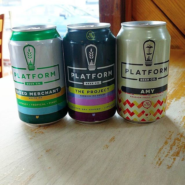 New arrivals at The Foodery NoLibs: Platform Beer Company! #craftbeer