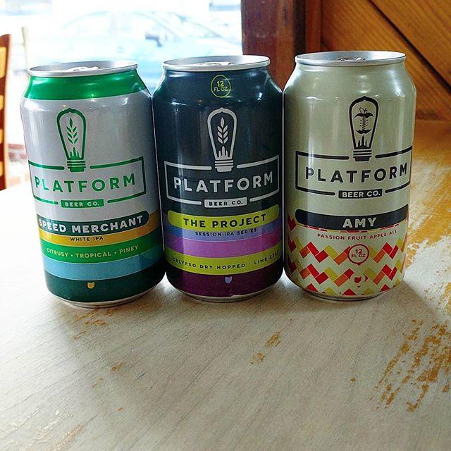 New arrivals at The Foodery NoLibs: Platform Beer Company! #craftbeer