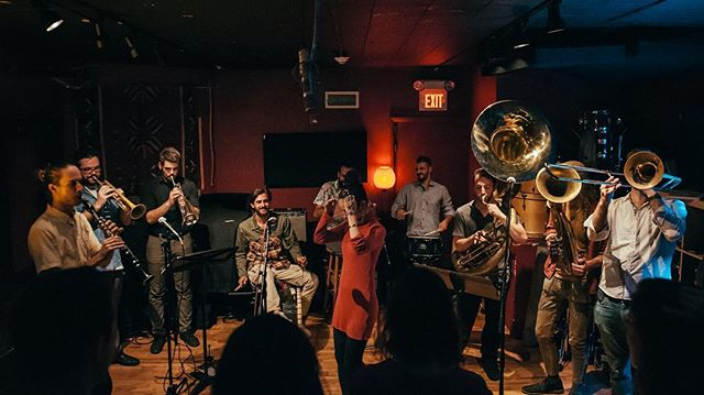 We are playing tonight at @citywinerybos with our buddies @cocek_brass_band! Come for an epic edition of our Balkan Dance Party! Show starts at 7:30 pm - we play first! #balkanbrass #balkandanceparty #partymusic #trubaci #citywinery